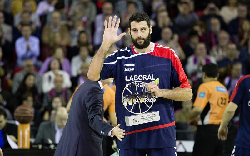 Baloncesto:  Bourousis, el renacido