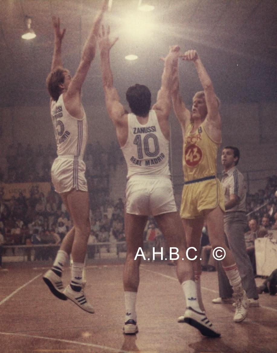 Nostálgicos: Craig Dykema, el primer gran triplista de la ACB .Por Roberto González Rico.