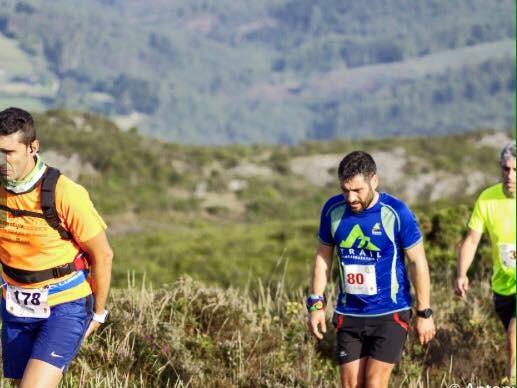 Trail Running. El tío del mazo. Por Manu Redonda.