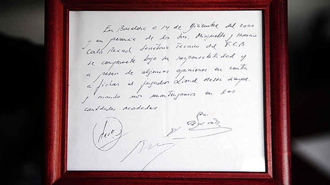 La negociación entre Pep y Messi que cambió la historia.Por Roberto González Rico.