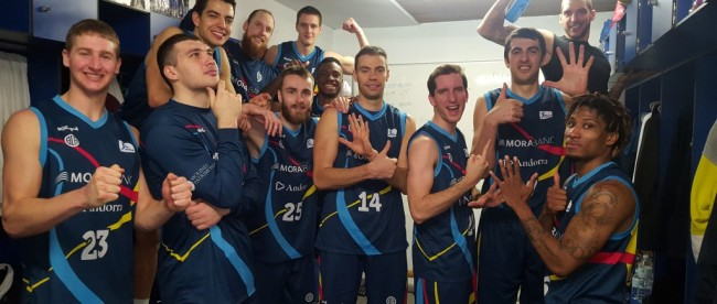 Skouting. Basket Andorra, una sorpresa muy agradable.Por Gabriel Madariaga.