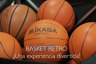 Fondo de armario. BASKET RETRO ¿UNA EXPERIENCIA DIVERTIDA?. Por Carlos Ruf.