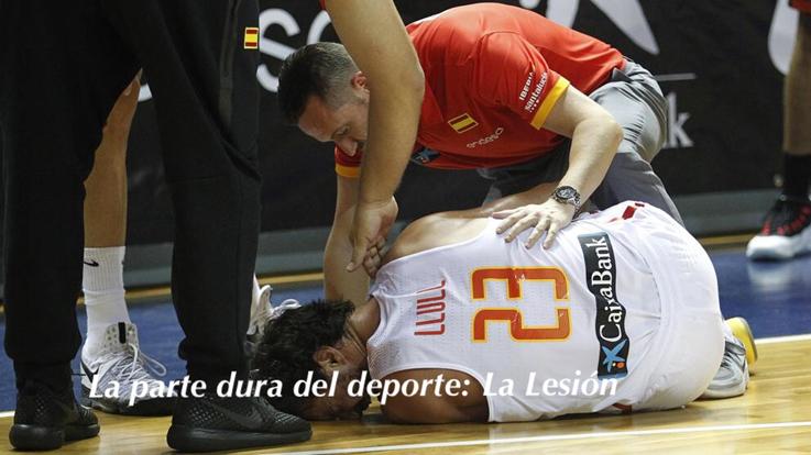 Fondo de armario. La parte dura del deporte: las lesiones. Por Carlos Ruf.