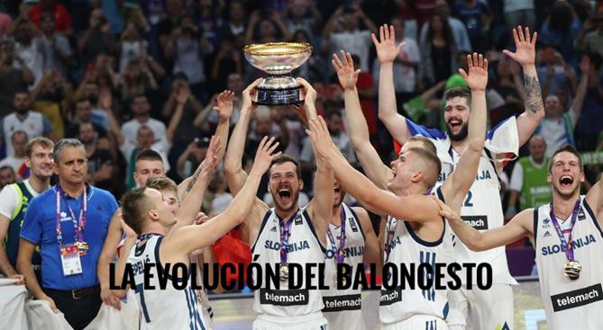 Fondo de armario. La evolución del baloncesto.Por CarlosRuf.