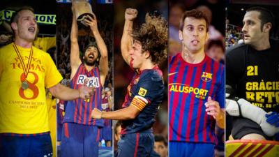 Capitanes del Barça