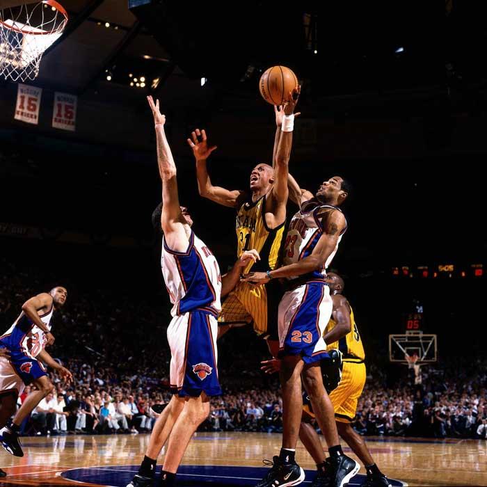 Atrapado en el tiempo. Knicks Vs Pacers: El arte de la rivalidad. Capítulo IV .Por Oscar Villares.