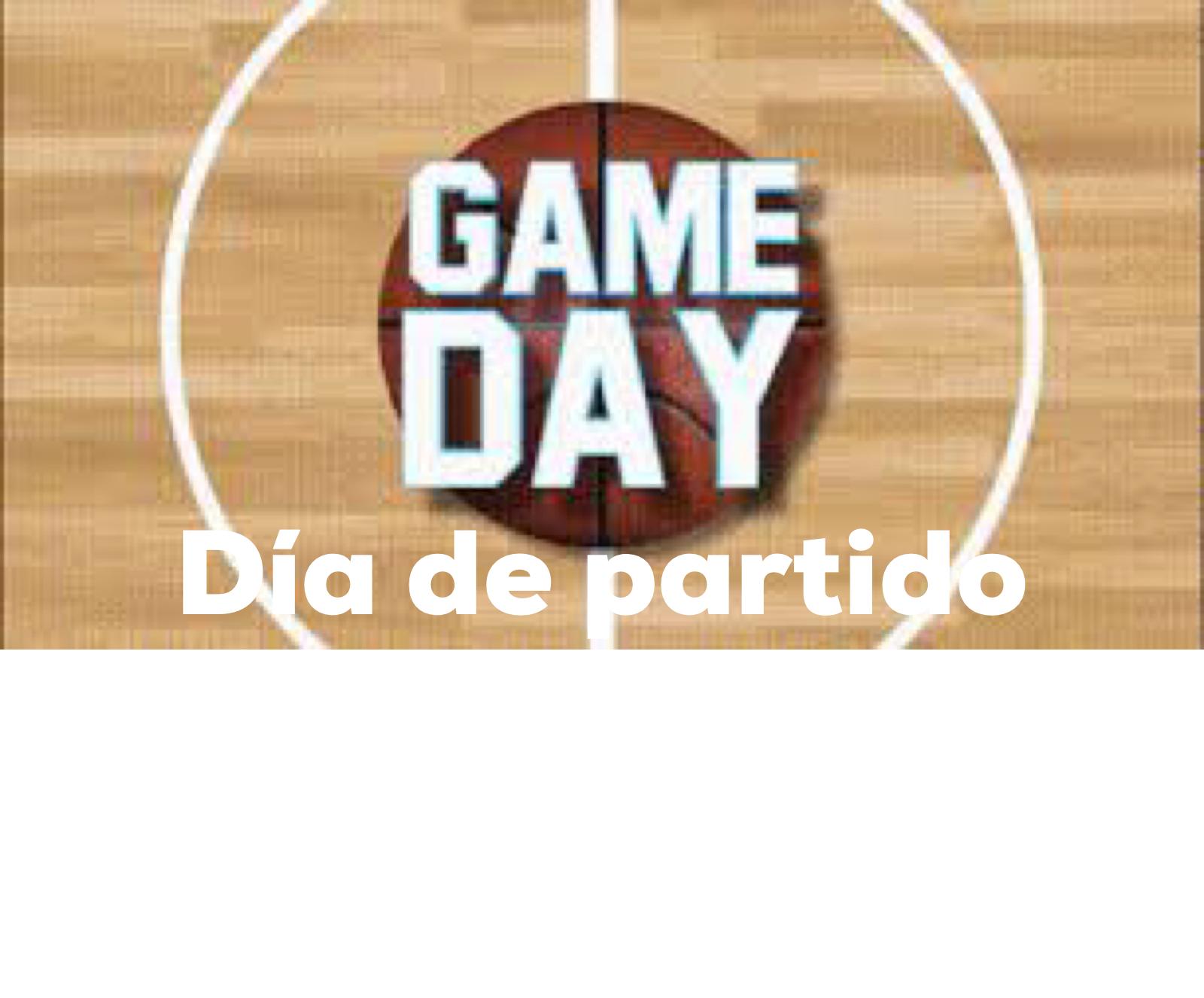 Fondo de Armario. Game Day, Día de Partido. Por Carlos Ruf Osola.