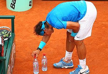 during the **** match between **** on day nine of the French Open at Roland Garros on May 30, 2011 in Paris, France.