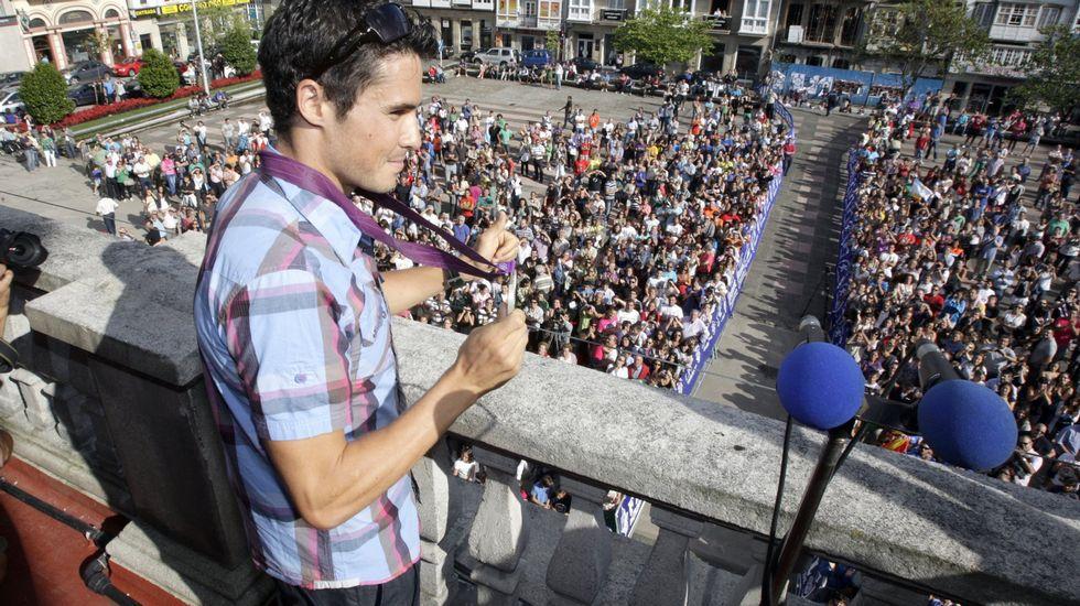 Javier Gómez Noya, único español entre los finalistas