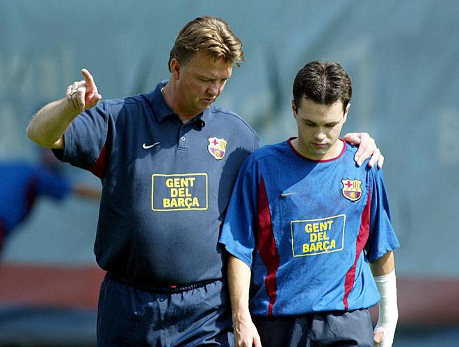 Especial Eurocopa: Van Gaal ya era de la roja
