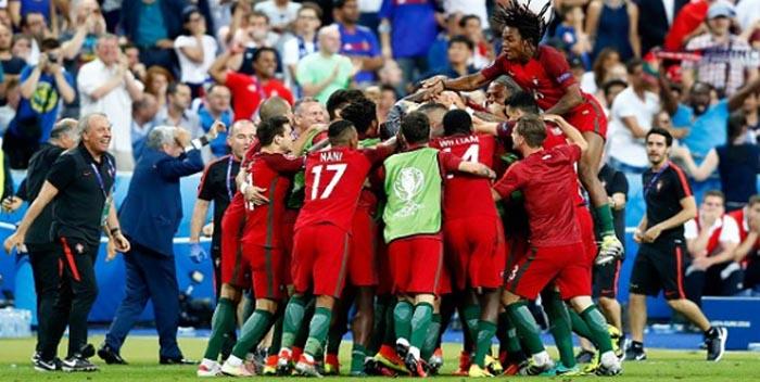 Selección portuguesa de Fútbol: Con la lección bien aprendida