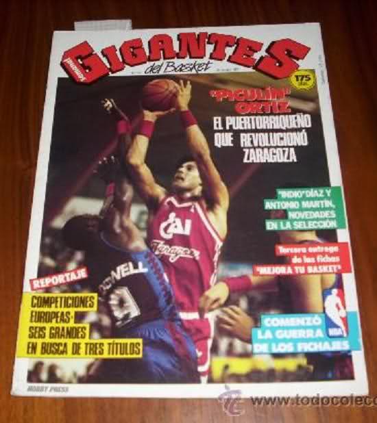 Nostálgicos: José Piculín Ortiz, uno de los más míticos y longevos jugadores del basket de los 80. Por Roberto González Rico.