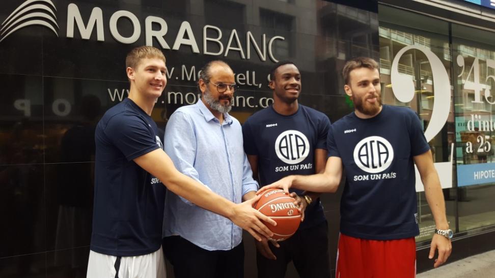 Liga 16-17: Morabanc Andorra, preparados, listos, ya para un paso más