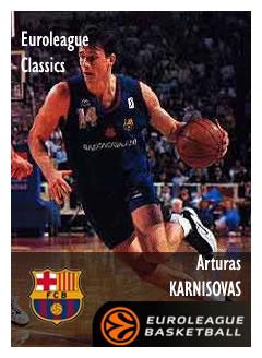Nostálgicos: Arturas Karnisovas, un tipo listo dentro y fuera de la cancha.Por Roberto González Rico.