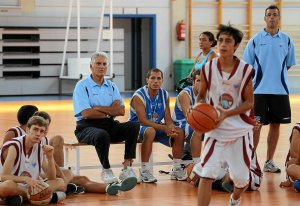 Campus de Baloncesto FOTO: OSCAR SOLORZANO