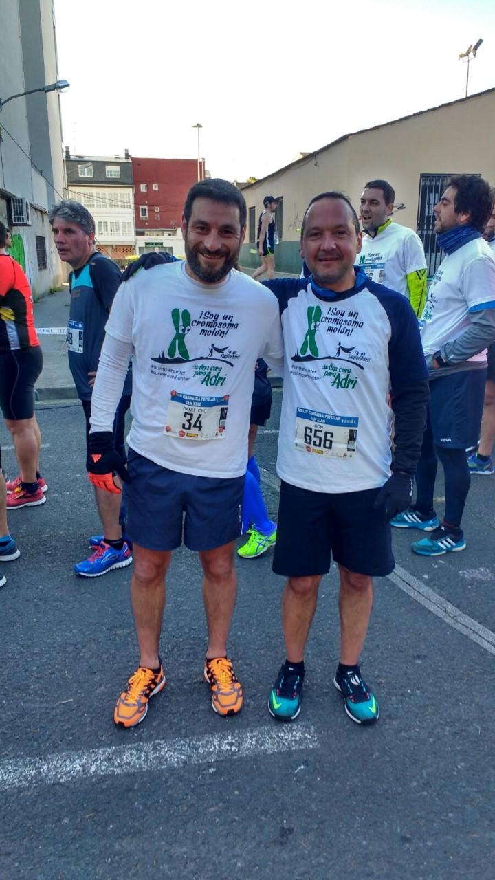 Trail Running. Una cura para Adri. Por Manu Redonda.