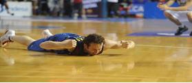 Marcelinho Huertas, el héroe del Palau (ACB Photo).