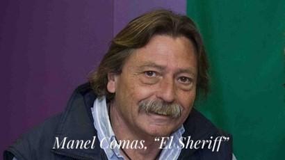 """Fondo de armario. Manel Comas, """"El Sheriff"""". Por Carlos Ruf."""