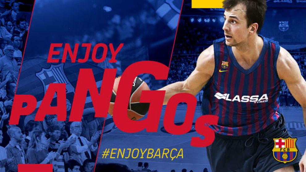 Actualidad FC Barcelona. Kevin Pangos, un base de los de antes. Por Roberto González Rico.