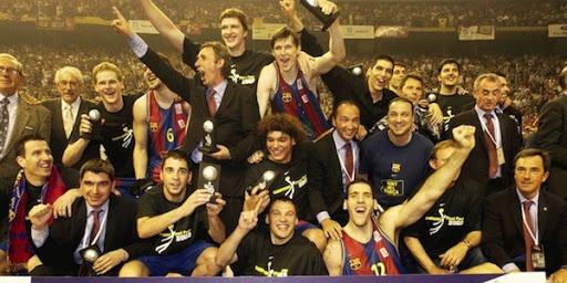 FC Barcelona Basket siglo XXI. Temporada 2002-03. El gen balcánico rompe una maldición de casi 20 años.Por Roberto González Rico.