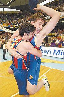 FC Barcelona Basket Siglo XXI. Temporada 2003-04. Una buena final de ACB en el adiós de Pesic. Por Roberto González Rico.