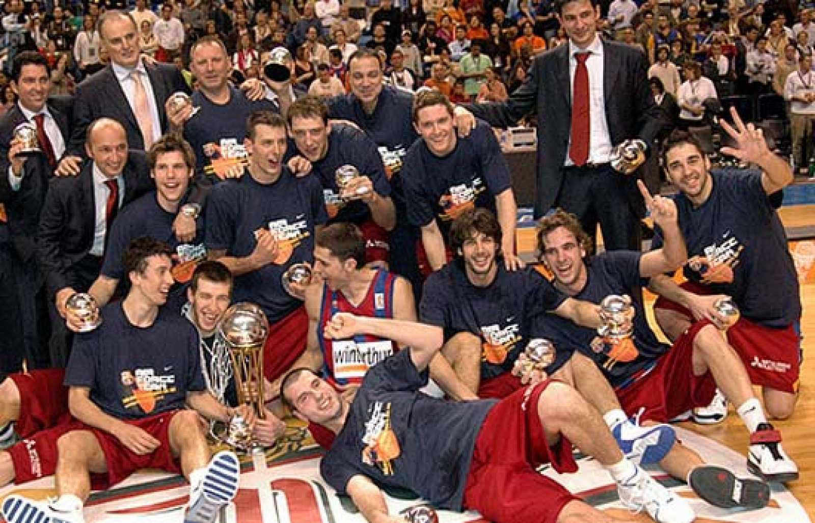 FC Barcelona Basket Siglo XXI. Temporada 2006-07. La Copa de Jordi Trías y un subcampeonato de Liga. Por Roberto González Rico.